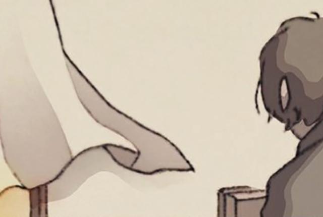 【猫とろ】さんマンガ連載~第5回(4/4)~ 『先生、好きでした』